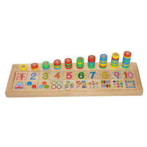 Wooden Educational Toy with Count & Match Numbers pictures & photos