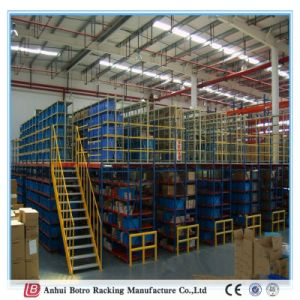 Heavy Duty Metal Steel High Quality OEM Mezzanine Floor and Platform System Shelving Best Supplier in China pictures & photos