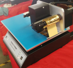 Adl 3050A Digital Desktop Hot Gold Foil Printer with Ce pictures & photos