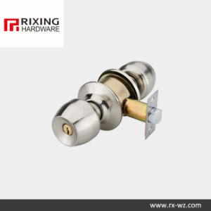 Iron or Stainless Steel Cylindrical Knob Lock (5831SN) pictures & photos