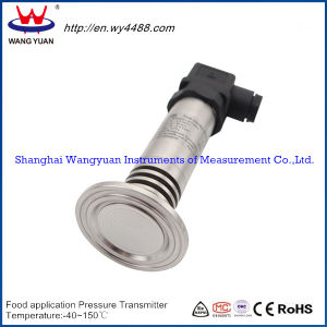 Non-Cavity Food Application Pressure Transmitter pictures & photos