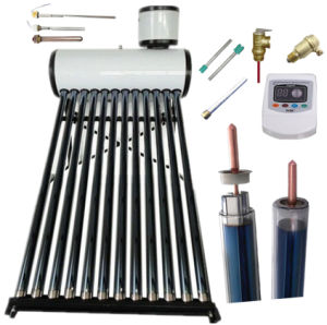 High Pressure Solar Hot Water Heating System Heat Pipe Vacuum Tube Solar Collector Solar Water Heater pictures & photos