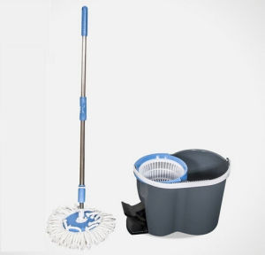 Plastic Floor Pedal Spin Mop (YG-047) pictures & photos