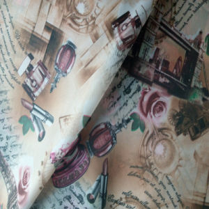 Polyester Taffeta Printed Lining Fabric/Printed Lining/Printted Taffeta Lining pictures & photos