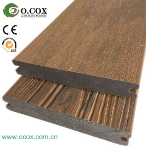2017 Anti-Slip Composite Floor Co-Extrusion Outdoor WPC Decking pictures & photos