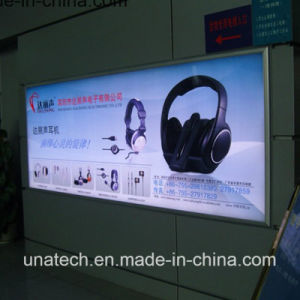 Profile Squared Aluminium LED Wall Mount/Hanging Banner Tension Billboard Advertising Light Box pictures & photos