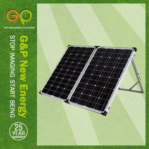 120wp Folding Panel Monocrystalline, Portable Panel with MPPT or Pmw Controller pictures & photos