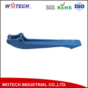 Color Powder Coating Surface Treatment Iron Sand Casting Metal Part for Truck pictures & photos