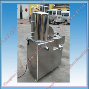 Experienced Potato Peeling Machine / Potato Chips Cutting Machine pictures & photos