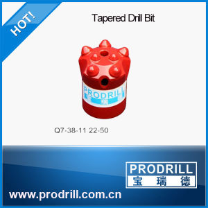 Rock Drilling Tapered Button Bits pictures & photos