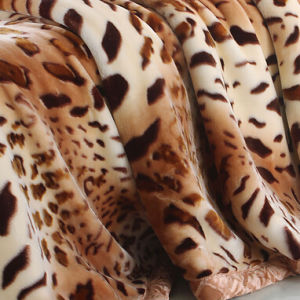 Animal Printed Mink Blanket for Camp pictures & photos