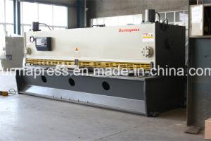 QC11y Big Size Shearing Machining 6m Guillotine Type Shearing Machine for Metal Cutting pictures & photos