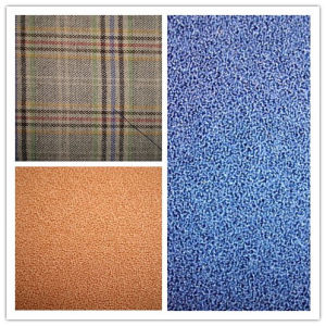 Wool Plain Dyed Mesh Weave Fabric pictures & photos