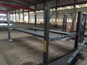 Dfp608xlt Hydraulic Four Post Car Packing Lift