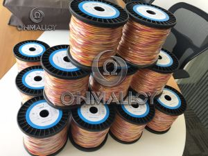 Dia 0.67mm Type K Kp Kn Thermocouple Cable/Wire 500 Degree Fiberglass pictures & photos