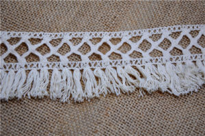Hot Sell Cotton Crochet Fringe Lace for Hometextiles pictures & photos