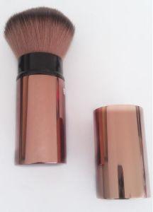 Retractable Powder Brush Shinny Coffee Ly-P056