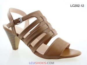 2017 Ladies Colorful High Heel Sandal for Women Shoes