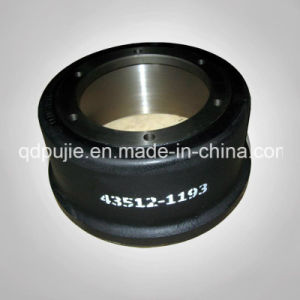 Japan Series 43512-1193 Brake Drum for Hino Truck (PJBD016) pictures & photos