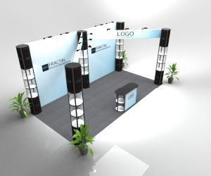 Aluminum Portable Advertising Trade Show Display Booth pictures & photos