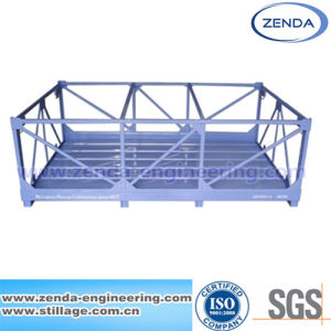 Stillages and Metal Pallets / Steel Work Bin / Pallet Container /Warehouse Foldable Pallet / Stillage Cage pictures & photos