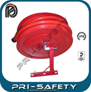 Swing Arm En471 Fire Hose Reel with Hydrant and Cabinet