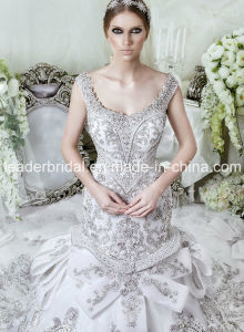 Crystals Wedding Dress Ball Gown Bridal Wedding Gown LD11534 pictures & photos