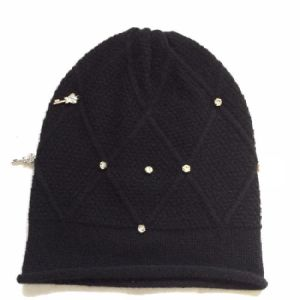 Cashmere Diamond Hat Blingbling pictures & photos
