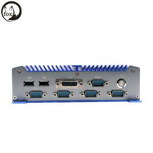 Fanless Mini Industrial PC 2 Lans, DC12V PC 2 Lans, Industrial PC pictures & photos