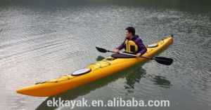 Plastic Sea Kayak Sit in Ocean Kayak with Paddle pictures & photos