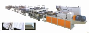 Plastic PVC Foamed Board Extrusion Machine pictures & photos