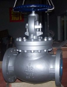 Wcb Flanged Globe Valve (J41H-150LB) pictures & photos