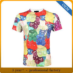 Factory Price All Over Sublimation Custom Tee Shirts pictures & photos