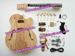 Afanti Music / Hollow Body Style / Spalted Mapel Top / Electric Guitar Kit (AHB-834) pictures & photos