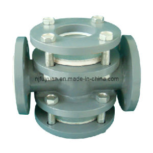 PTFE Lined Cross Sight Glass (4way) pictures & photos