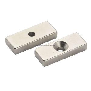 Countersunk Magnets, Permanent Neodymium Iron Boron, Block Shape. pictures & photos