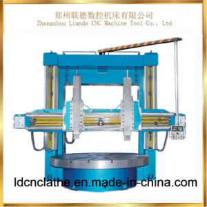 Chinese Large Vertical Lathe Machine for Sale pictures & photos