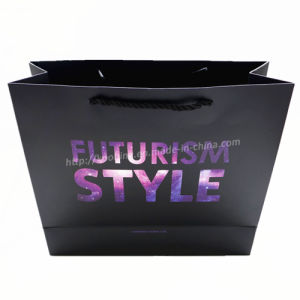Fashion Paper Plastic Shopping Carrier Bag/Logo Printing Available pictures & photos