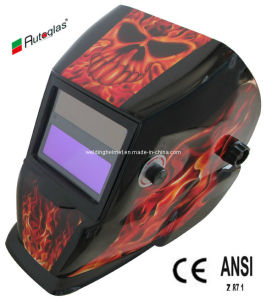 Big Size/ANSI Z87/En179/9-13 Shade Welding Mask (B1190ST) pictures & photos