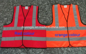 China Professional Manufacturer of Reflective Vest with En471 Class 2 Standard (yj-101607)