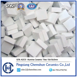 92% Alumina Ceramic Tiles as Pulley Lagging Ceramics pictures & photos