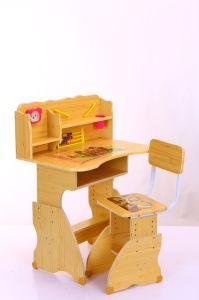 School Furniture Hight Adjustable Kids Children Study Student Table Desk pictures & photos