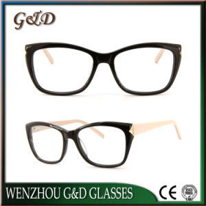 High Quality Acetate Optical Frame Eyewear Eyeglass 52-302 pictures & photos