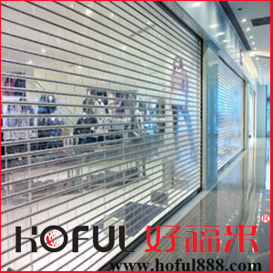 Transparent Roller Shutter/ See-Throught Polycarnobate Rolling Shutter pictures & photos