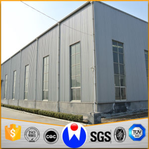 Wide Span Light Steel Structure Building with ISO & Ce Certificated pictures & photos