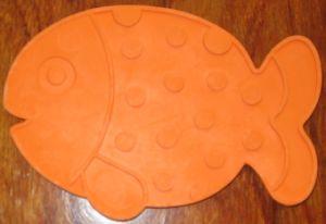 4 TPR Rubber TPU PVC Silicone Safe Temperature Change Color Mini Anti-Slip Bathtub Bath Shower Mat