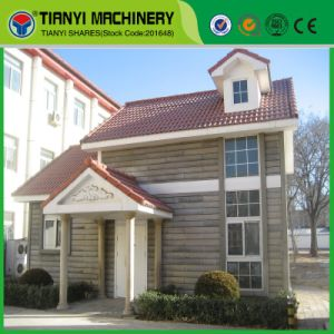 Tianyi Overall Baffle EPS Cement Machine Sandwich Panel Villa pictures & photos