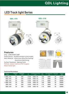 24W COB Sharp Track Light Qdl-316