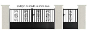 New Style Driveway Wrought Iron Gate/Gallery Wrought Iron Gate pictures & photos