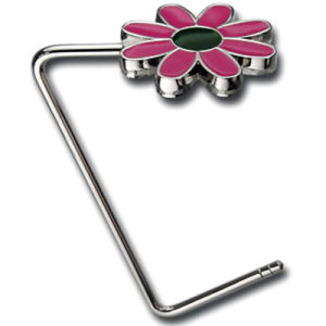 Promotional Flower Metal Bag Hook pictures & photos